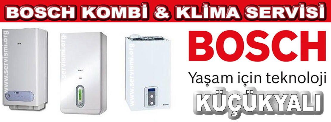 Küçükyalı Bosch Kombi Servisi