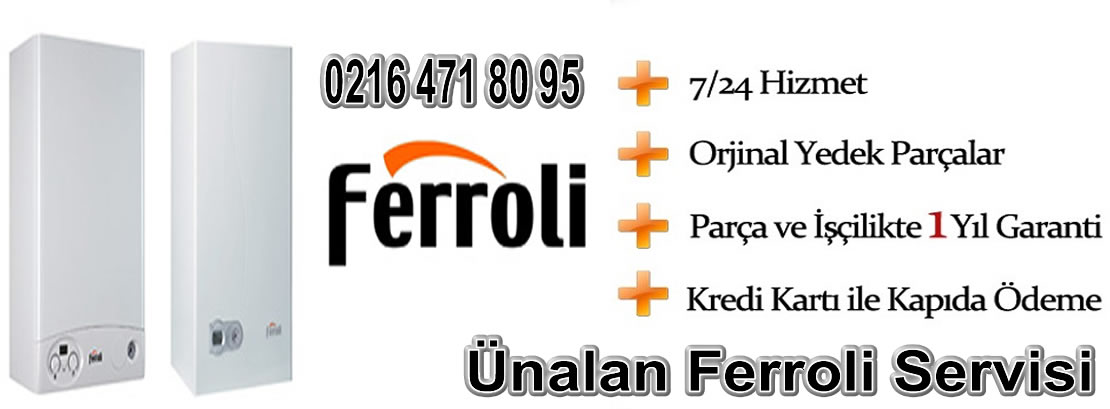 Ünalan Ferroli Servisi