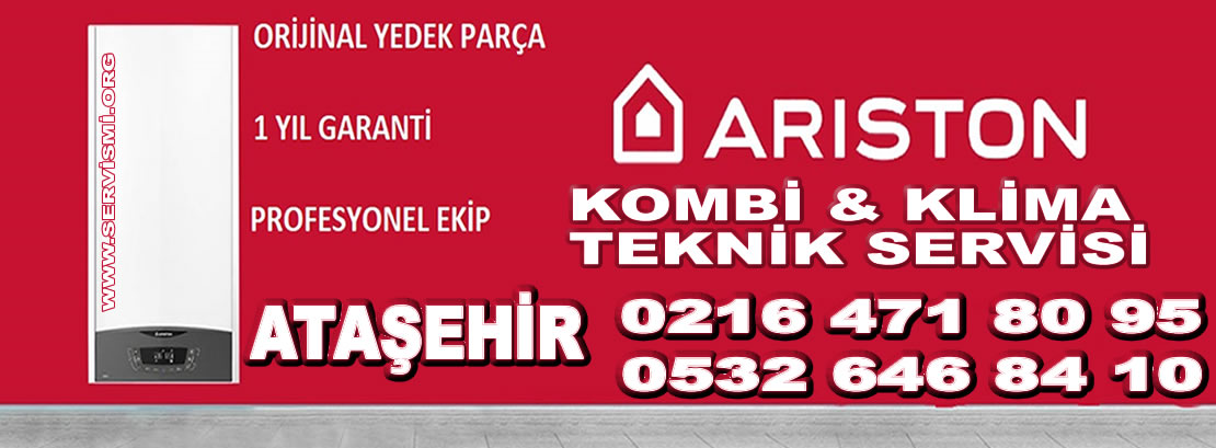 Ataşehir Ariston Servisi