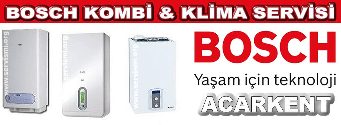 Acarkent Bosch Kombi Servisi