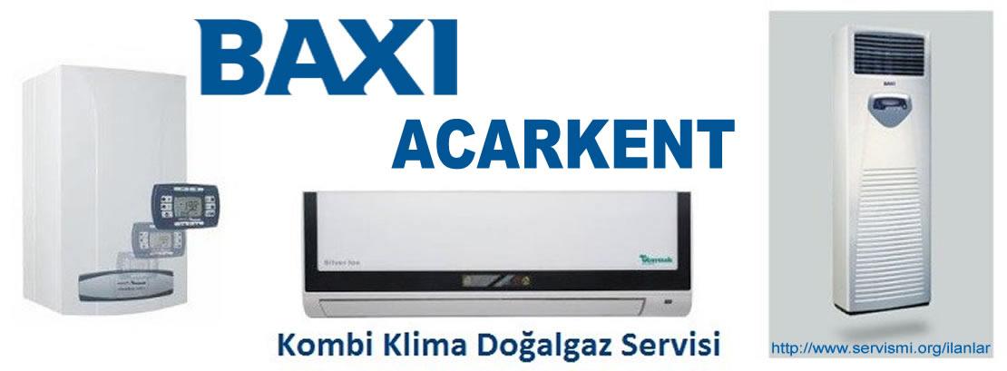 Acarkent Baxi Servisi