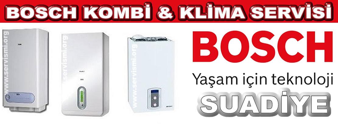 Suadiye Bosch Kombi Servisi