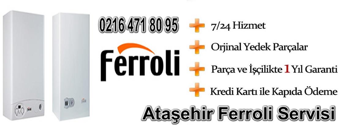 Ataşehir Ferroli Servisi