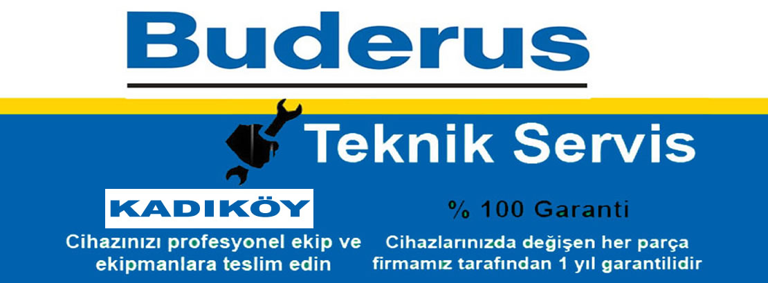 Kadıköy Buderus Servisi