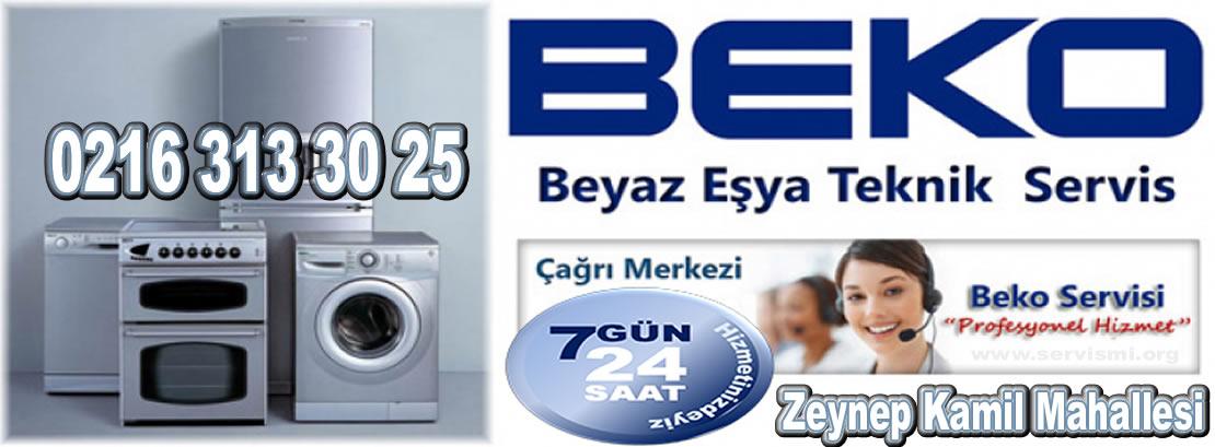 Zeynep Kamil Mahallesi Beko Servisi