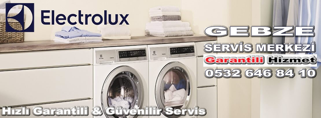 Gebze Electrolux Servisi