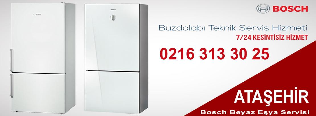 Ataşehir Bosch Buzdolabı Servisi