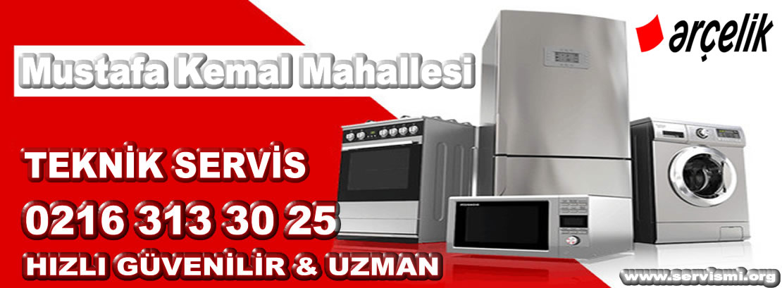 Mustafa Kemal Mahallesi Arçelik Servisi