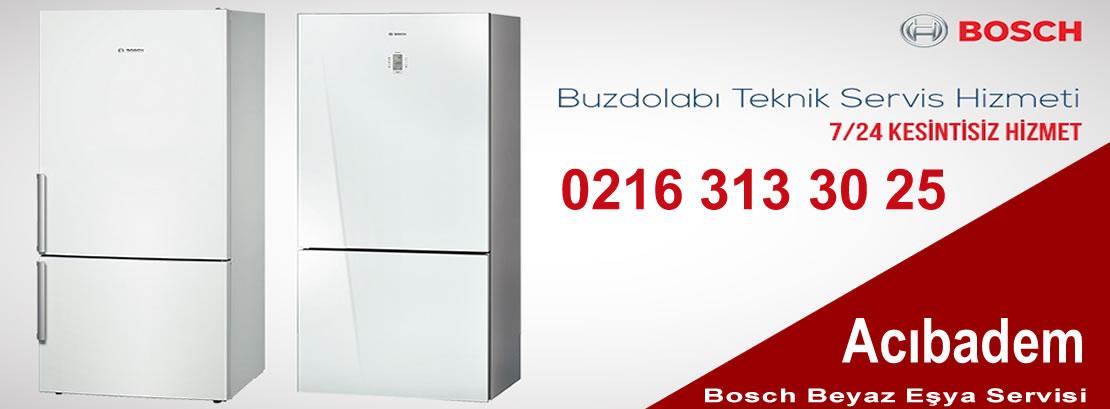 Acıbadem Bosch Buzdolabı Servisi