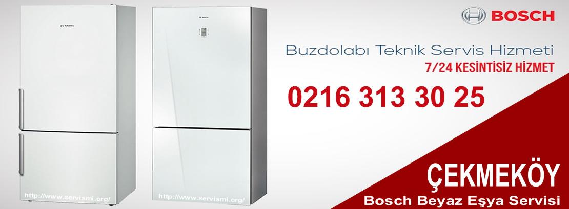 Çekmeköy Bosch Buzdolabı Servisi