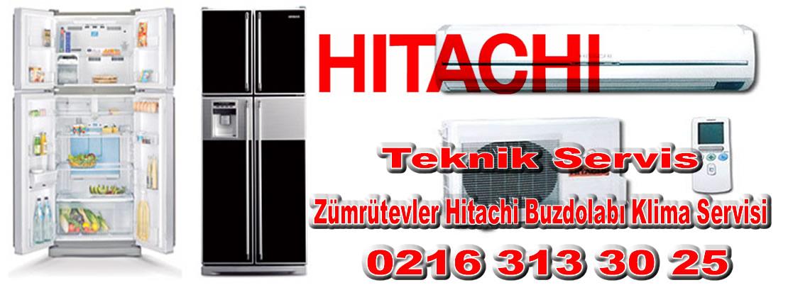 Zümrütevler Hitachi Buzdolabı Klima Servisi