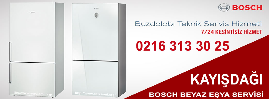 Kayışdağı Bosch Buzdolabı Servisi
