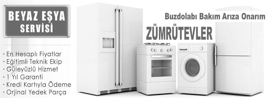 Zümrütevler Buzdolabı Tamir Servisi