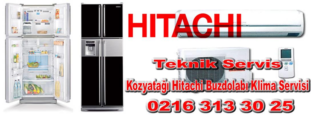 Kozyatağı Hitachi Buzdolabı Klima Servisi