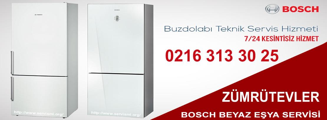 Zümrütevler Bosch Buzdolabı Servisi