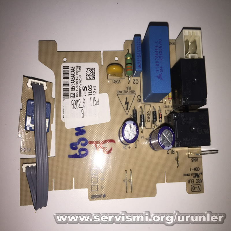 Arçelik Bulaşık Makinası Kart ( A302) 1899450120