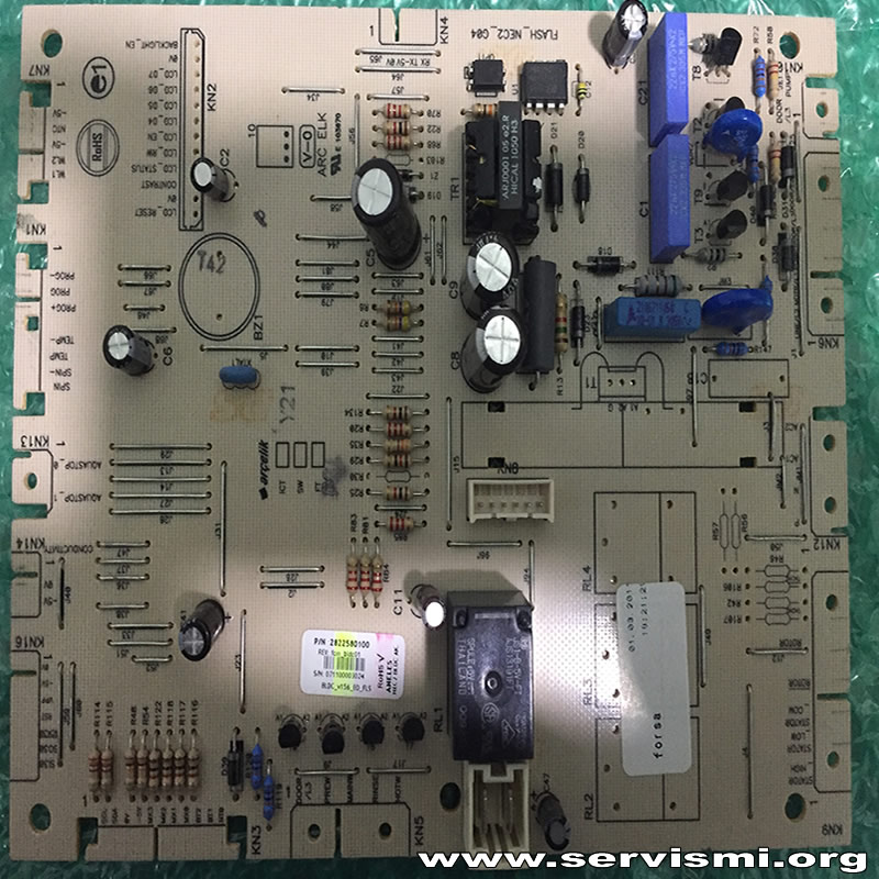 Arçelik Çamaşır Makinesi Ana Kart - 2822580100 (Orijinal)