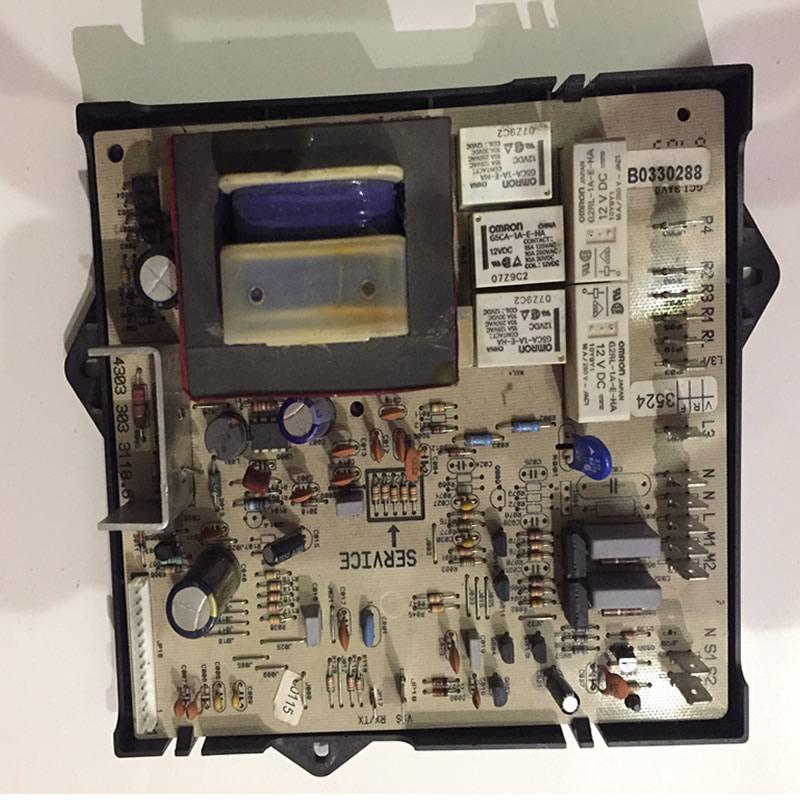 Elektronik Çamaşır Makinesi Kartı